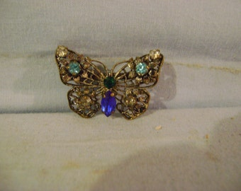 Butterfly Pin or Brooch
