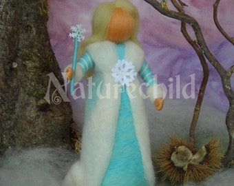 """Photographical print """"The Winter Fairy"""" - 10,6 x 8 inches - like Waldorf, by Naturechild"""