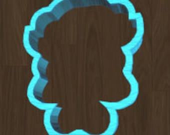 Little Girl with Pony Tails Cookie Cutter