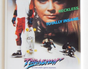 Thrashin' Movie Poster Fridge Magnet