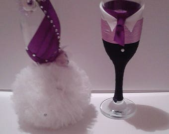 married Champagne Flute