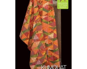 Pattern - Kumquat Twist Quilt Pattern by Madison Cottage Designs (KT122) Paper Pattern Instructions