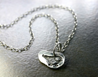 Sterling Bird Necklace