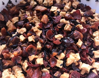 Apple Peach Harvest Loose Leaf Herbal Tea