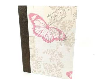 Romantic notebook - diary - travel notebook