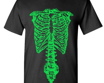 NEON SKELETON - t-shirt short or long sleeve your choice!
