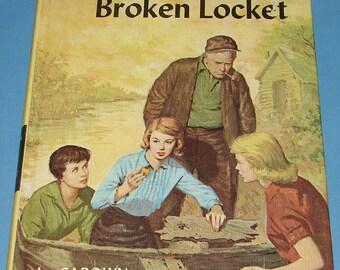 Nancy Drew #11 Clue of Broken Locket Orig Text 1st PC