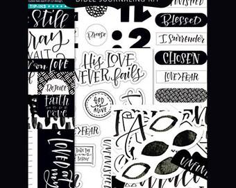 Illustrated Faith - Faith > Fear Journaling Kit