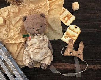 Teddy bears vintage style teddy  toy Teddy collection vintage toy