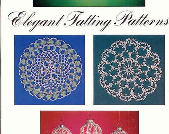 Elegant Tatting Designs ~ Tatting Book ~  Dover Book