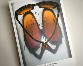 signed PRINT – Kissing in the shades