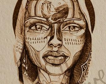 Gaia - Fine Art Print by Vondove