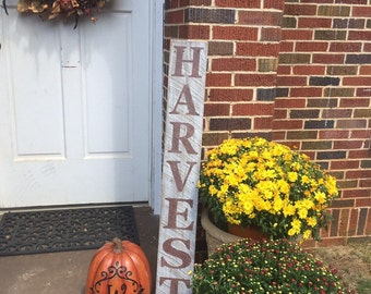 Harvest sign, Fall sign, Fall decor, Fall, Distressed wood signs, wooden Fall sign, decorative Fall signs, Thanksgiving sign, Reclaimed wood