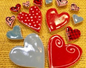 Lover's Heart Tile Mosaic Pack