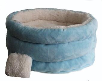 Cat bed, cat furniture, designer small dog bed Cloud light, cat basket, pet basket, cat sleeping bag, round cat bed,snuggle cat cave