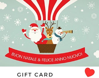 Gift Card Voucher Gifts Gift Cards Personalized gift Voucher Choice gifts at the last minute Ricamificio di Meri