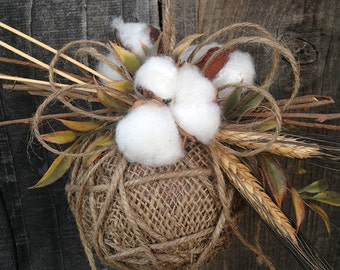 Cotton Christmas Ornament