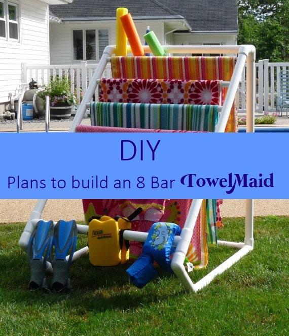 Diy Plans For 8 Bar Towelmaid Read Listing
