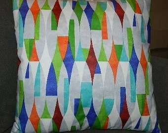 7 Sizes Available - Modern Elements  Pillow Cover,Sham, Throw Pillow, Cushion, Decorative Pillow