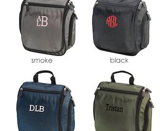 Personalized Dopp Kit | Mens Toiletry Bag | Groomsmen Gift | Hanging Travel Bag | Travel Kit | Father's Day Gift | Monogrammed Gift for Men