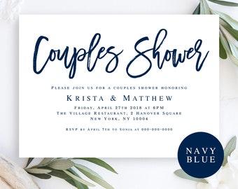 Couples shower invitation Etsy