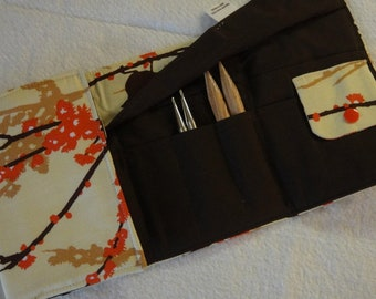 Aviary Interchangeable Knitting Needle Case