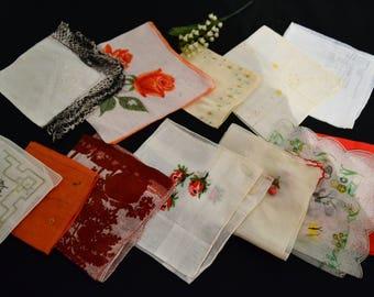 Handkerchief Collection of Twelve Cheerful Sunshine