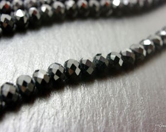 1 strand of black pearls 6 mm approx 74 stones