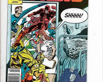 Marvel Two-In-One #96  Fantastic Fours' The Thing  and ???