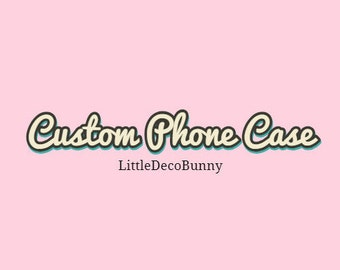 Custom Decoden Phone Case| Any device