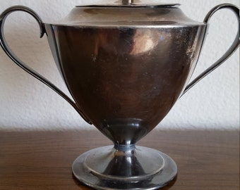 Forbes silver plated sugar bowl 250