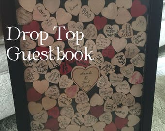 wedding guestbook Drop box Alternative wedding guestbook