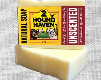 Natural Soap: Unscented