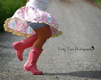 Skort Pattern - Twirl Skirt with built in shorts - Monkeybar Skirt Pattern by Tie Dye Diva