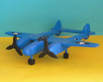 Lockheed Lightning Toy Airplane