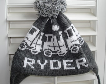 Personalized & Handmade knit hat - RYDER
