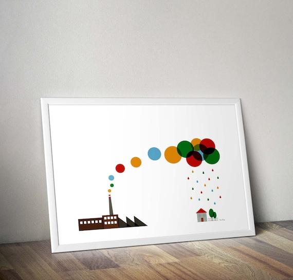 Kunstdrucke Moderne Kunst mitte jahrhundert modern moderne kunst poster kunstdrucke