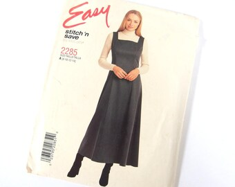 UNCUT Jumper Sewing Pattern, McCall's 2285, Size 8 to 14, Bust 31.5- 36 Inches