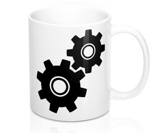 Gearing mug