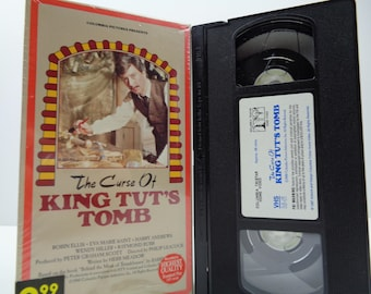 The Curse of King Tut's Tomb VHS