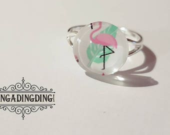 Cute Adjustable, Dainty Flamingo Rings! - FREE GIFT WRAPPING