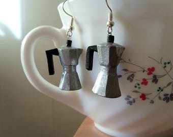 Coffee maker Earrings Earrings