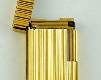 Dupont Lighter Gold Plated Lighter - Collectable