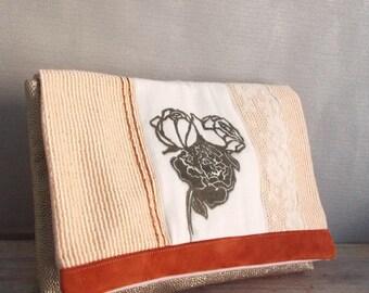 Hand printed textile bag