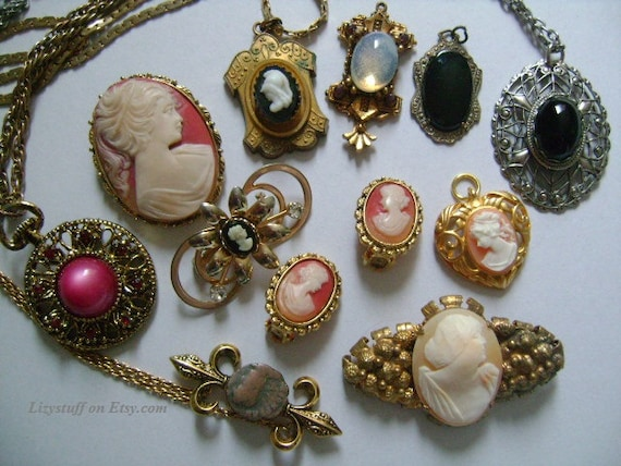 11 piece vintage antique victorian neoclassical accessories aloadofball