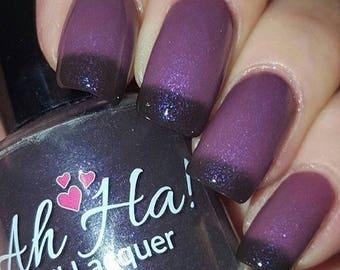 Super Nova Black/Plum to Purple Thermal