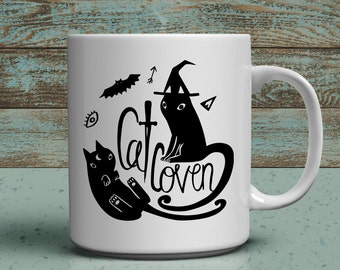 cat coven witchy cat lover 11oz mug