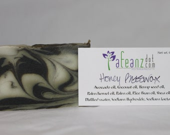 afeanz Shave & A Haircut Handmade soap