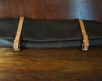 Drum Stick Roll - Drum Stick Bag - Leather Drumstick Bag, Leather Drumstick Roll - Musician Case - Drum Accessory