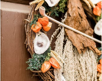 Colonial Williamsburg Oyster Wreath